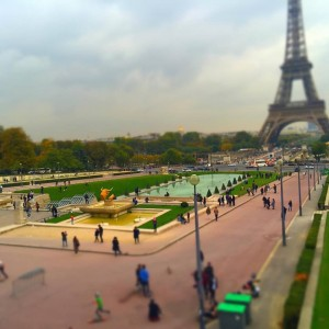 Paris miniature photographed by Petra Balog