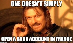 bank accounts in france