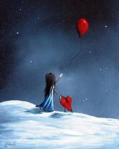 As her heart breaks by Shawna Erback